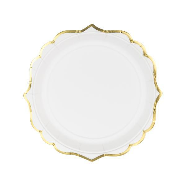 Stylish Paper Plates for Weddings