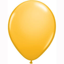 Goldenrod Yellow Balloons (5 pack)
