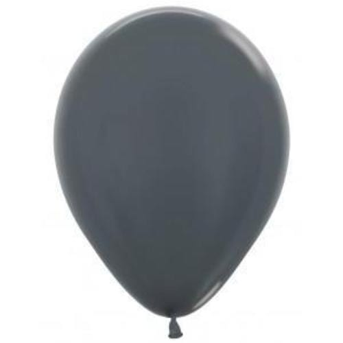 Graphite Grey Balloons (5 Pack)