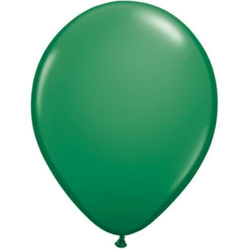 Green Balloon | 11 Inch Plain Green Balloon UK