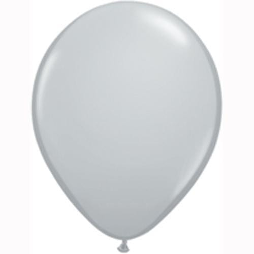 Grey Balloons (5 Pack)
