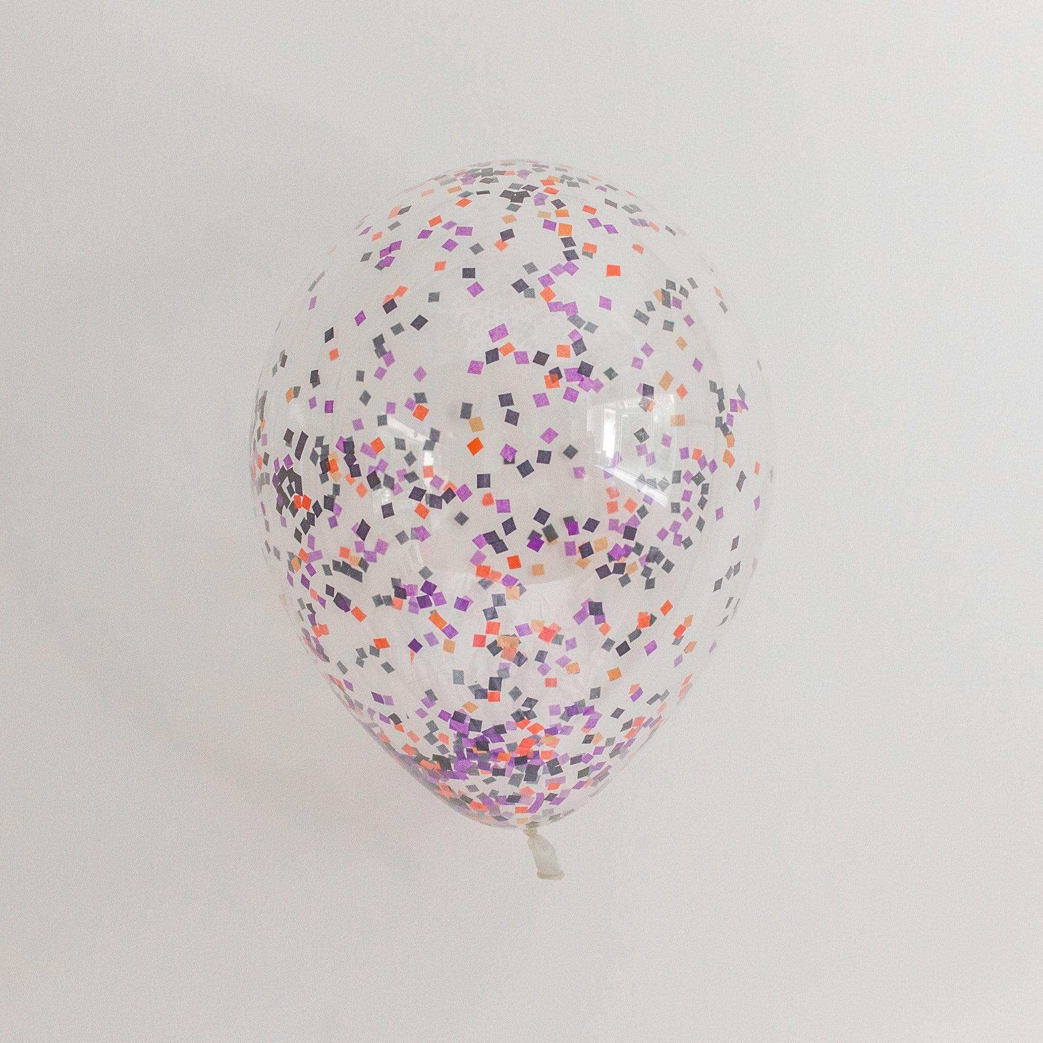 Confetti Balloons | Halloween Sprinkle Confetti Filled Balloons