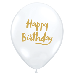 "Happy Birthday Balloons 11"" (5 Pack)"