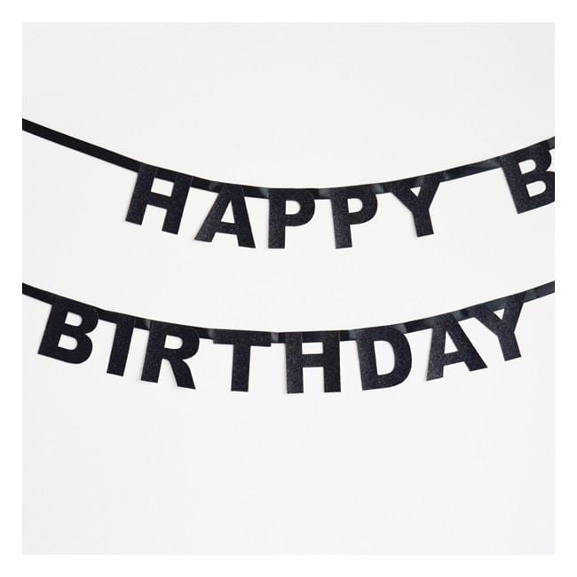 Happy Birthday Party Garland | Birthday Banner
