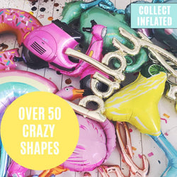 Helium Filled Crazy Shape Balloon - Click & Collect