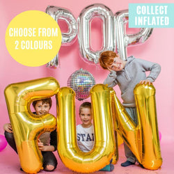 Helium Filled Giant Letter Balloon - Click & Collect