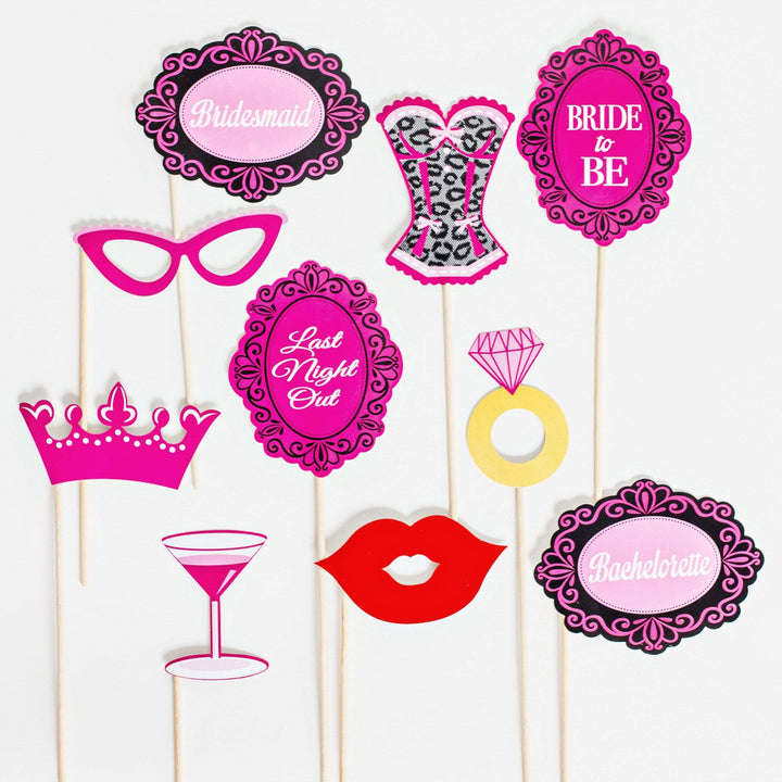 Hen Party Photo Props