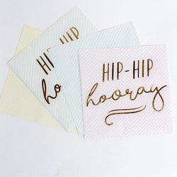 Hip Hip Hooray Party Napkins