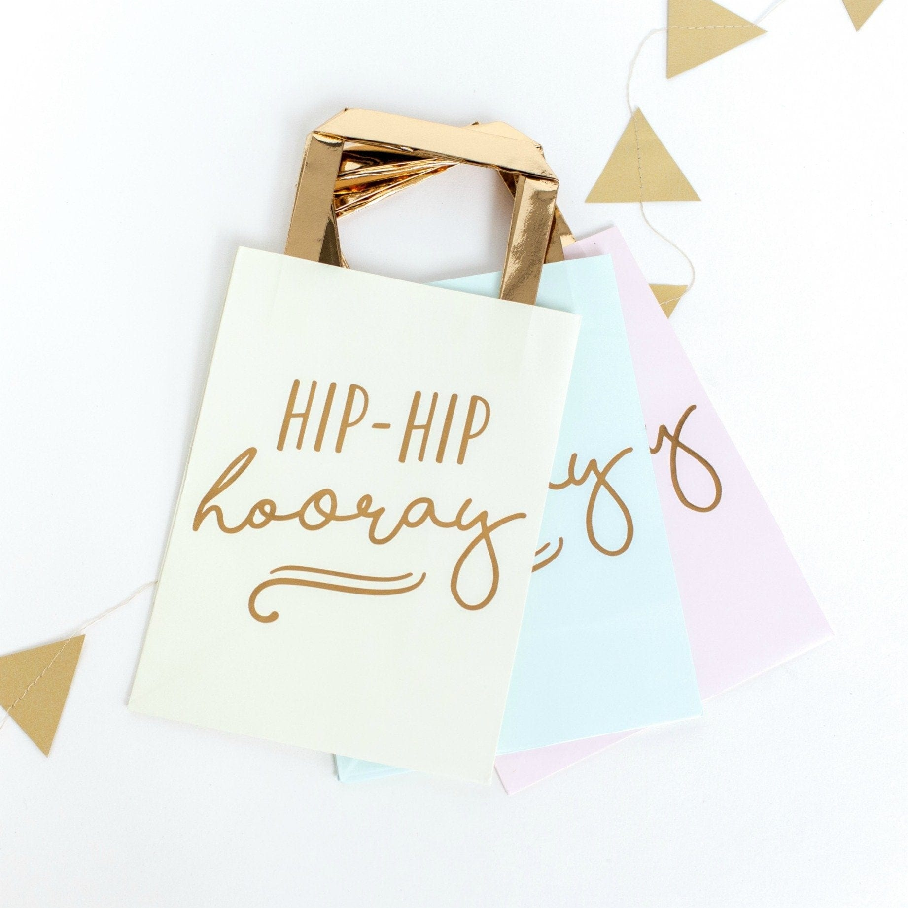 Pastel Party Bags | Hip Hip Hooray Party Ginger Ray UK