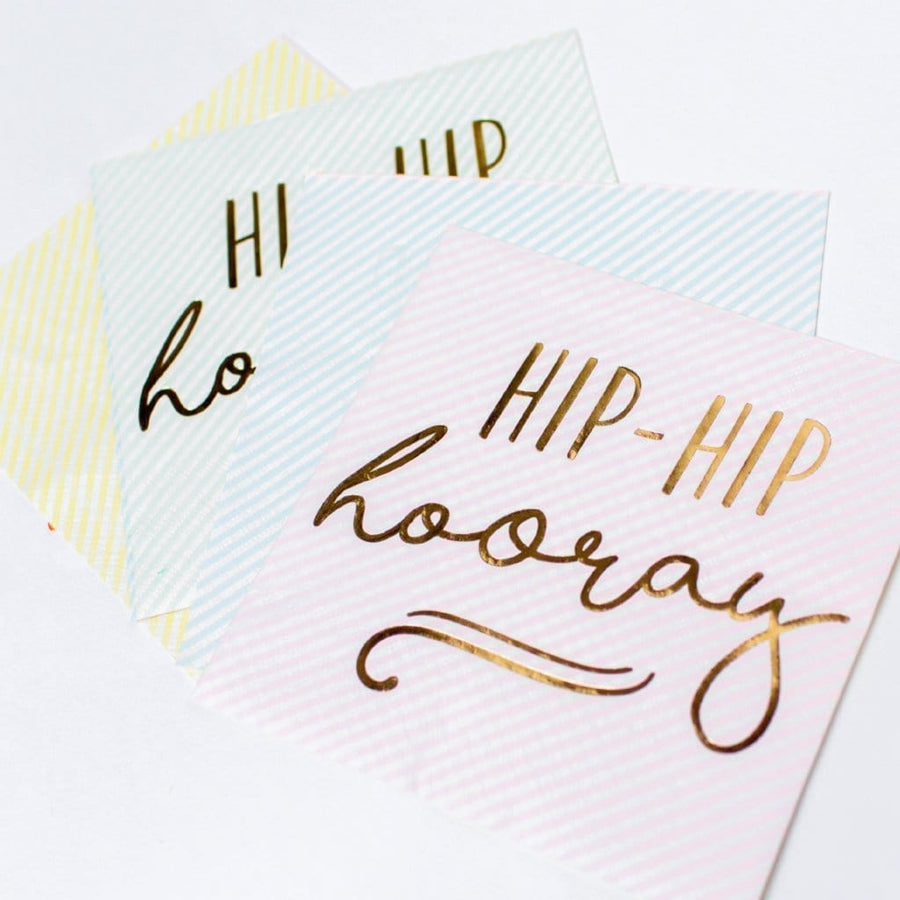 Pastel Party Napkins | Hip Hip Hooray Party Ginger Ray UK