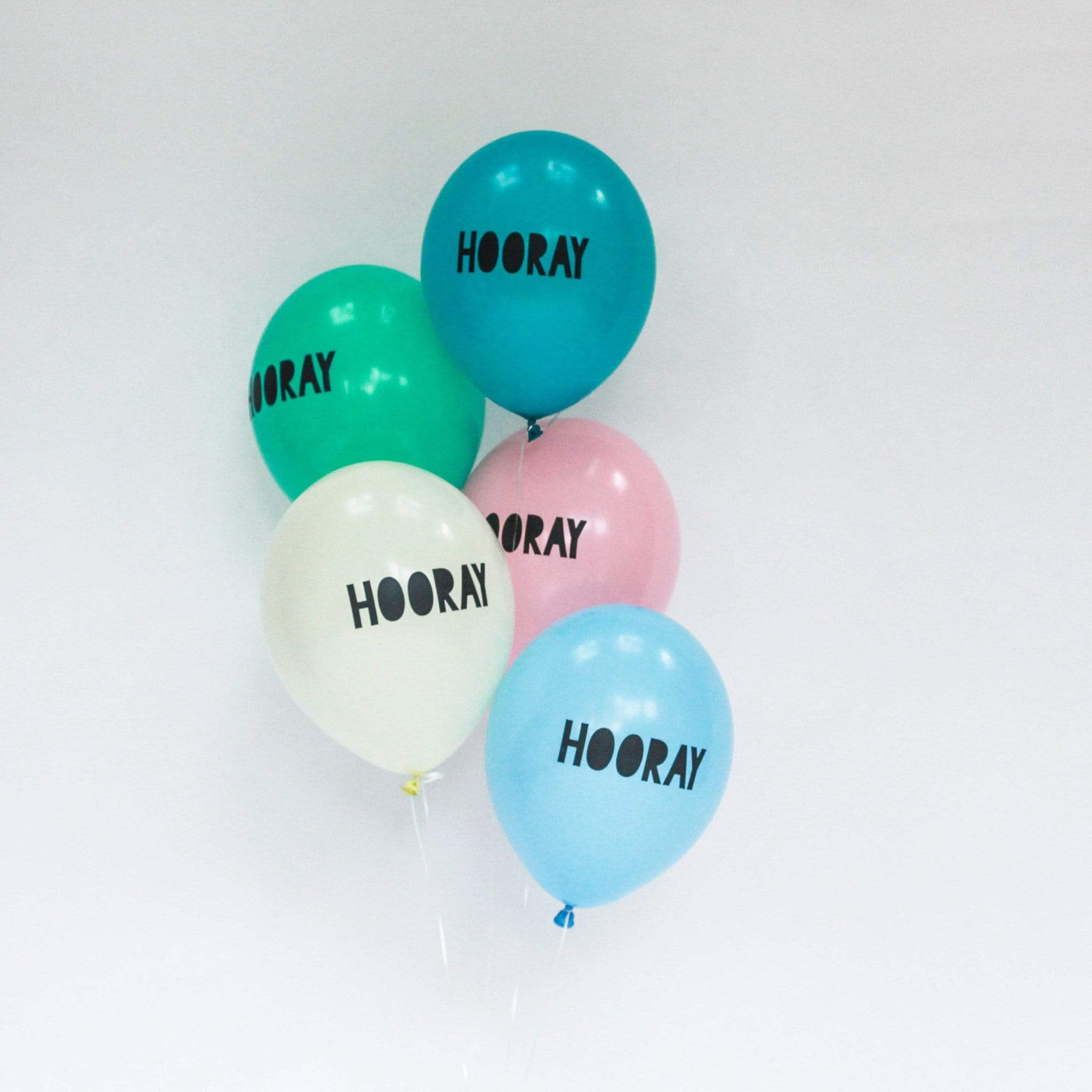 Hooray Balloons Peppermint (5 Pack)