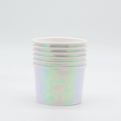 Ice Cream Treat Cups Iridescent (6 pack)