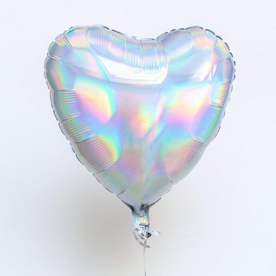 Iridescent Heart Balloon