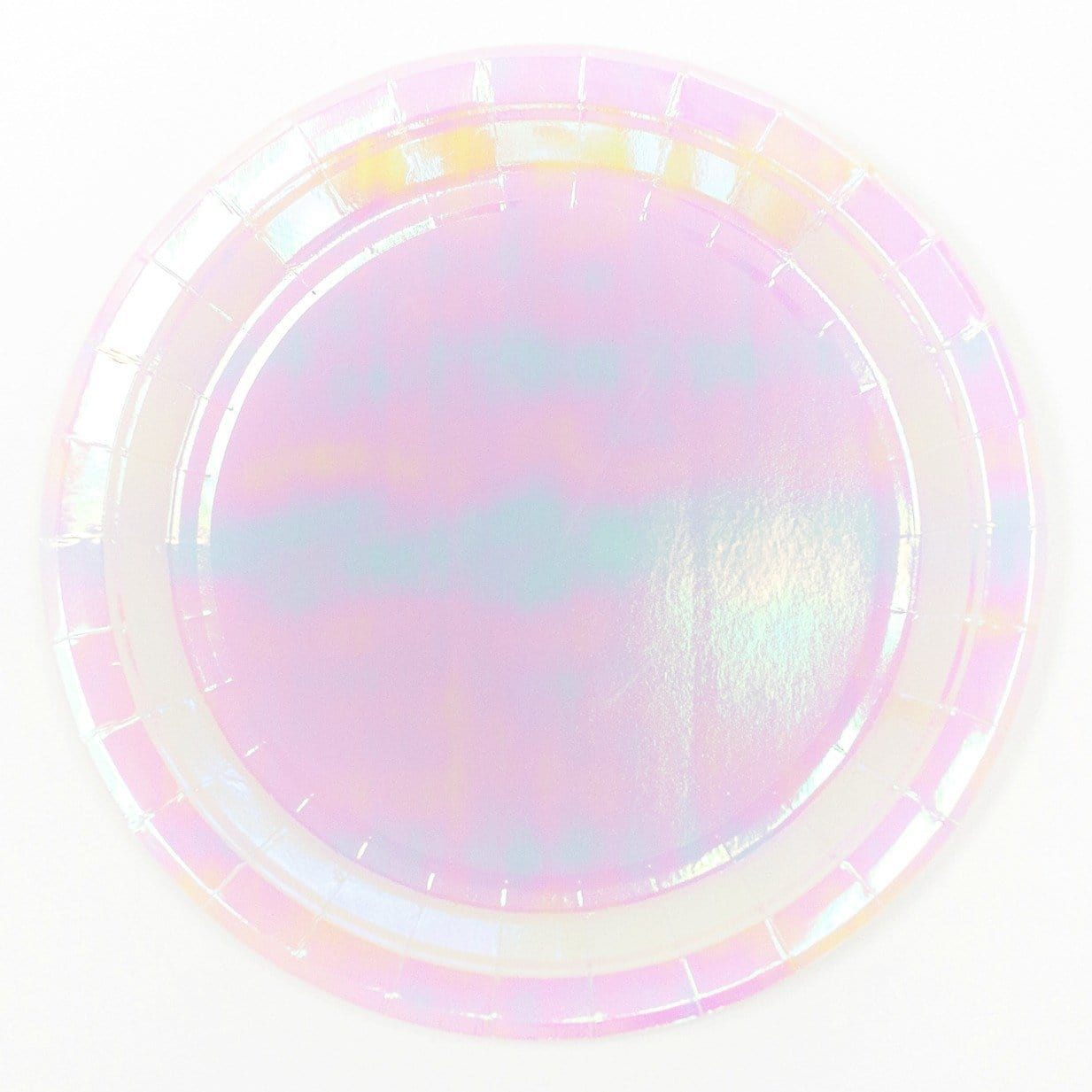 Iridescent Paper Party Plates | Talking Tables | Pastel Party Ideas | Party Supplies UK