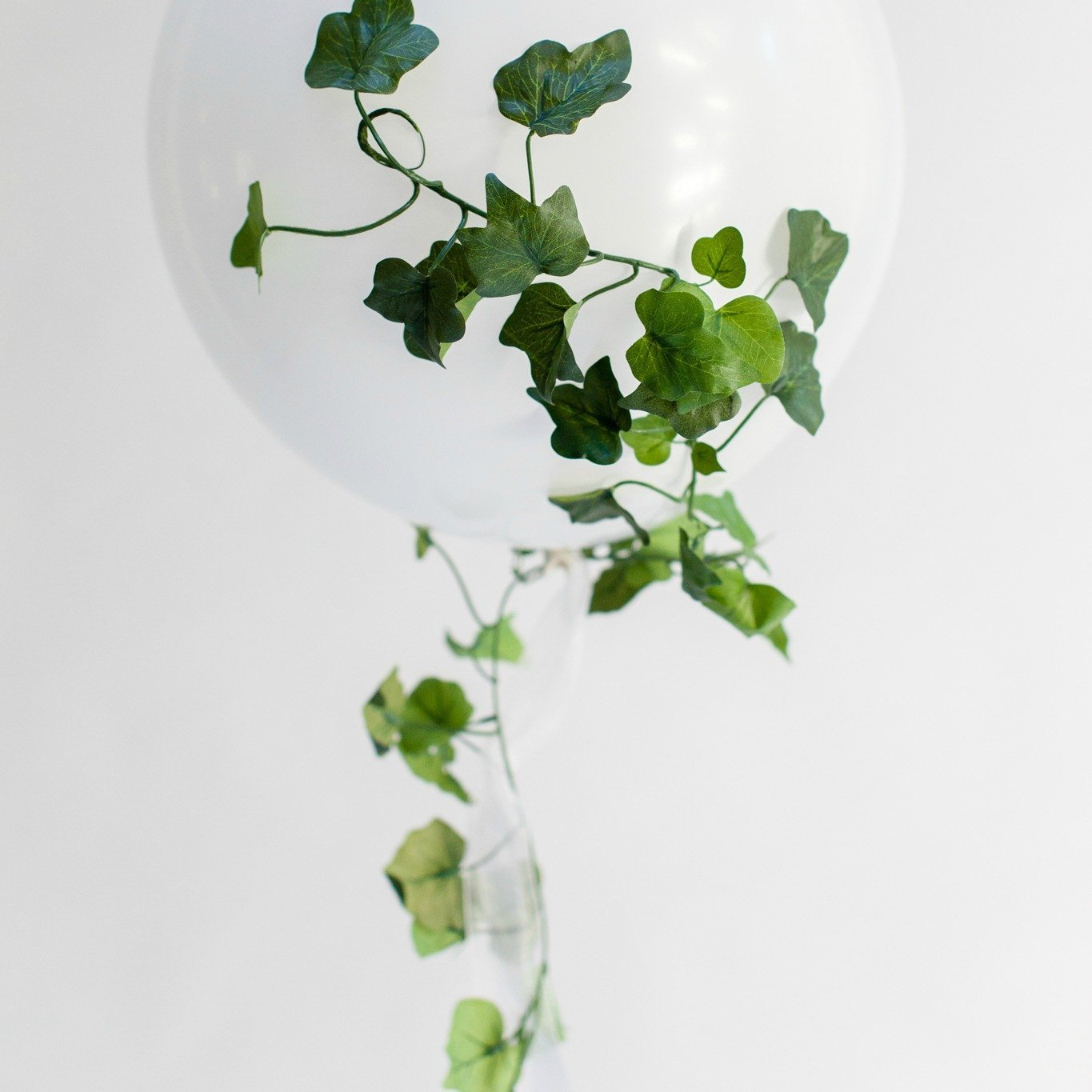 Faux Ivy Balloon Tail | Balloon Tail | Balloon Tassel