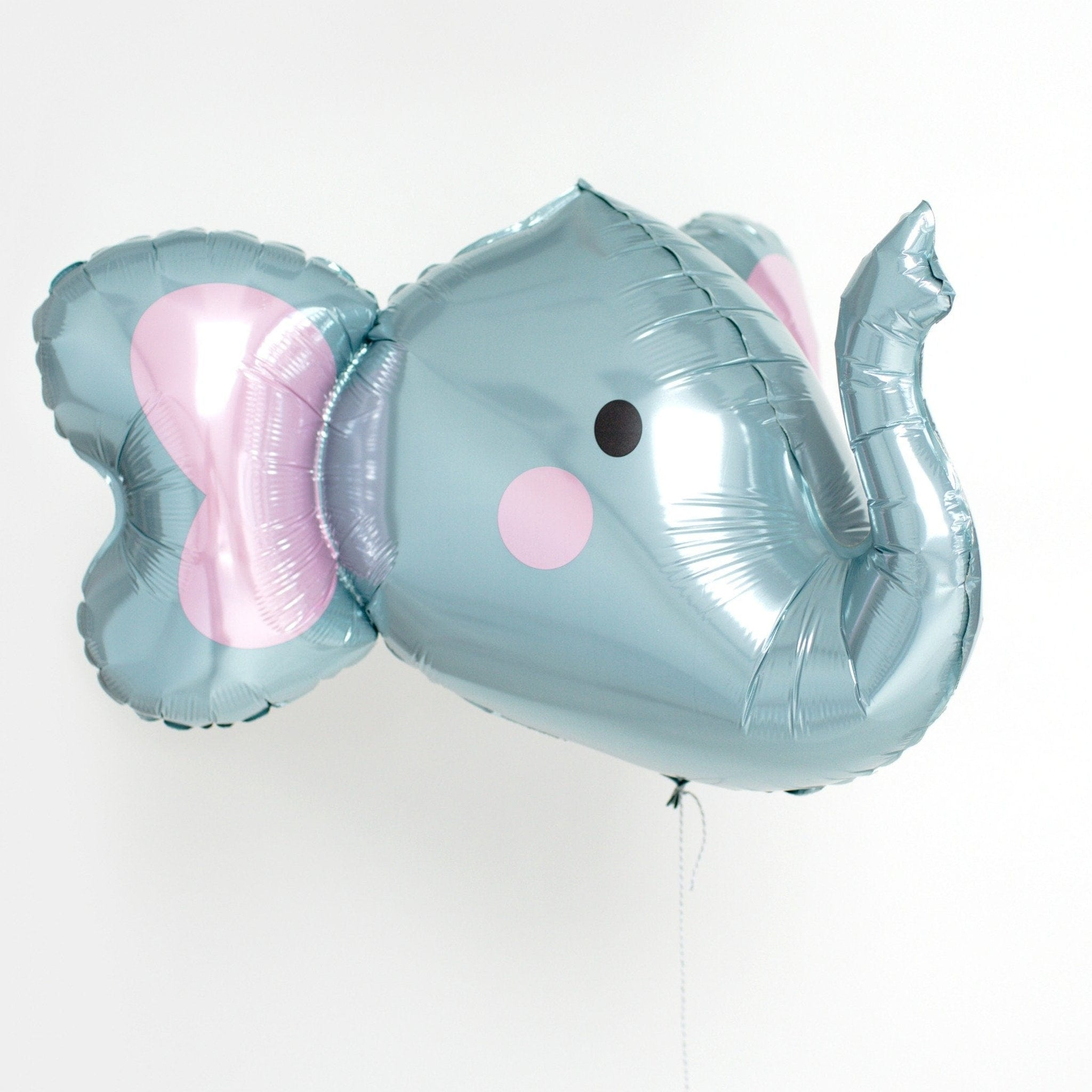 3D Elephant Head Balloon For Jungle Parties