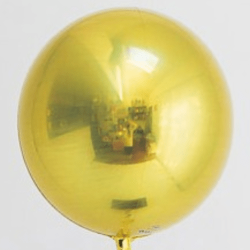 Jumbo Gold Orb Balloon 21