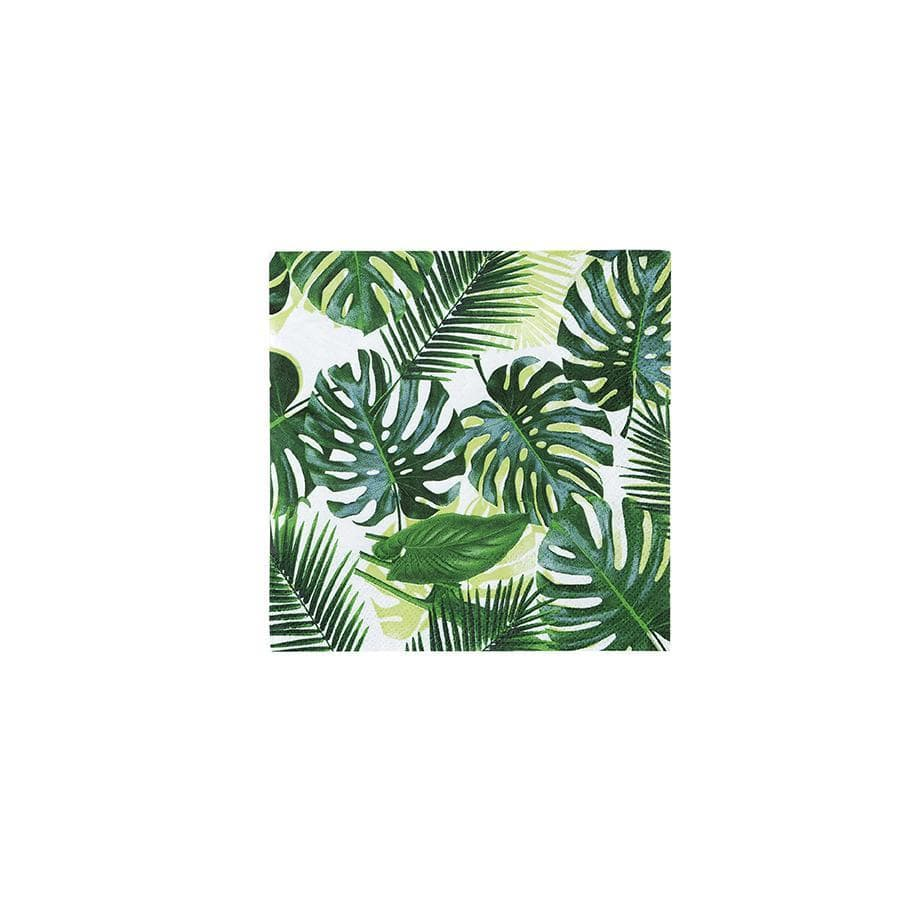 Jungle Palm Leaf Napkins Talking Tables