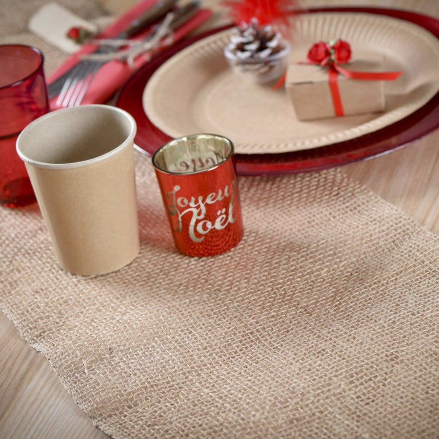 Jute Table Runner | Stylish Party Supplies UK