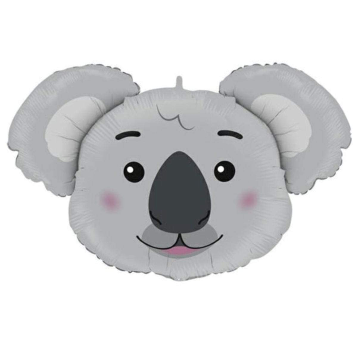 Koala Helium Balloon | Koala Head Foil Balloon UK