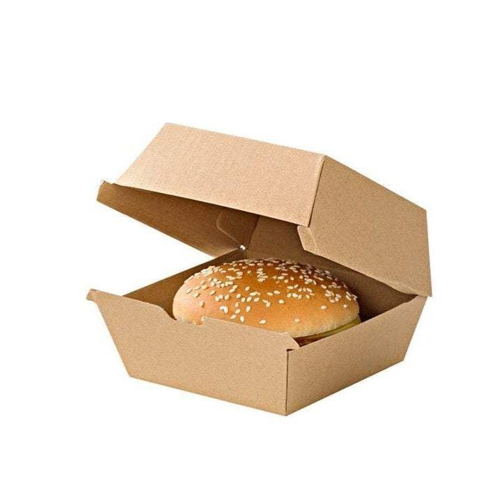 Burger Box Kraft | Biodegradablle burger box UK
