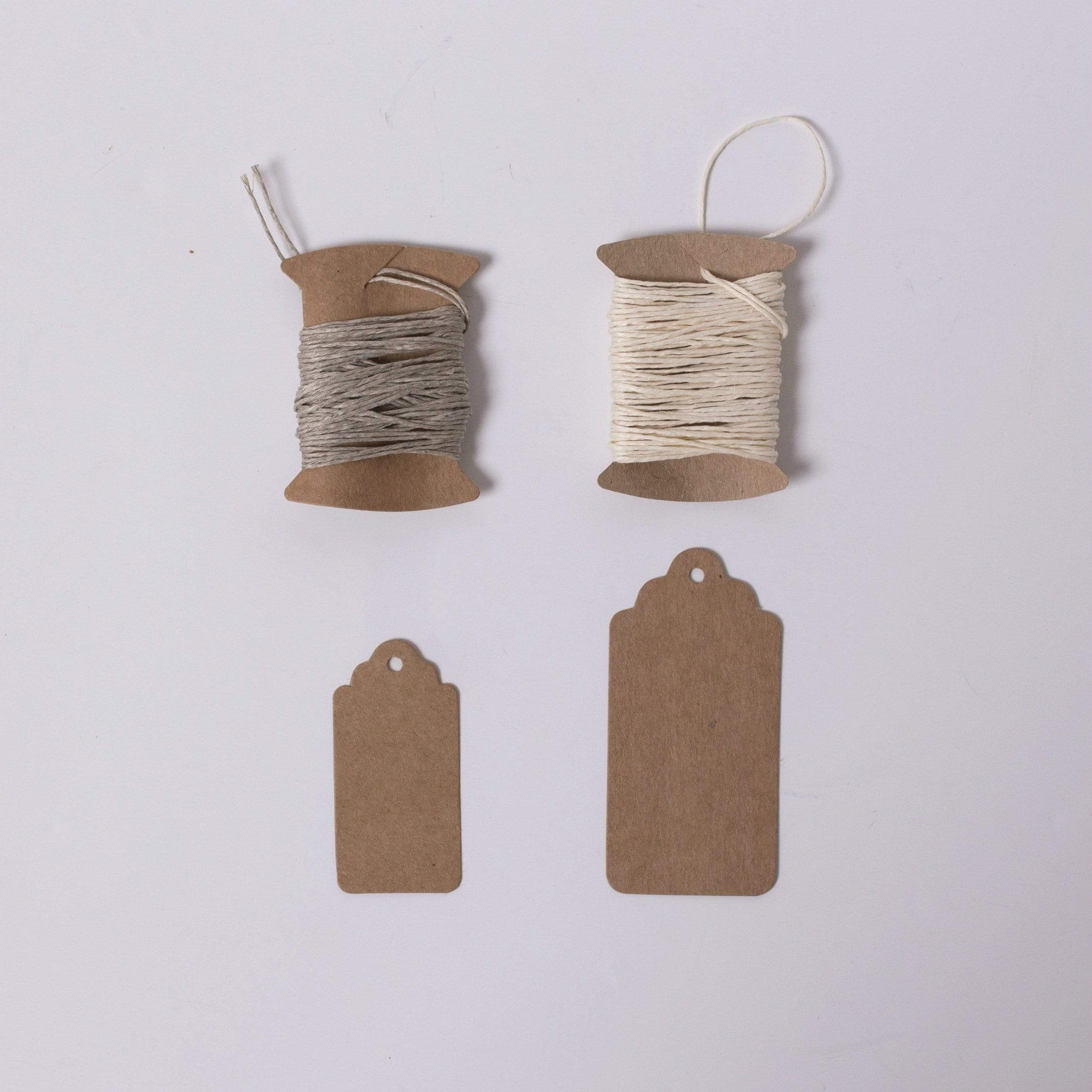 Kraft Gift Tags and Twine