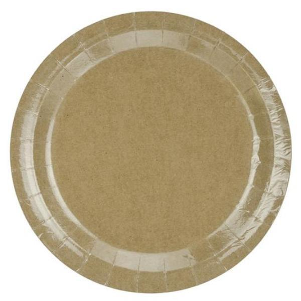 Kraft Brown Paper Plates | Party Plates | Party Deco