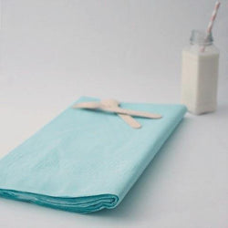 Large Light Blue Paper Tablecloth