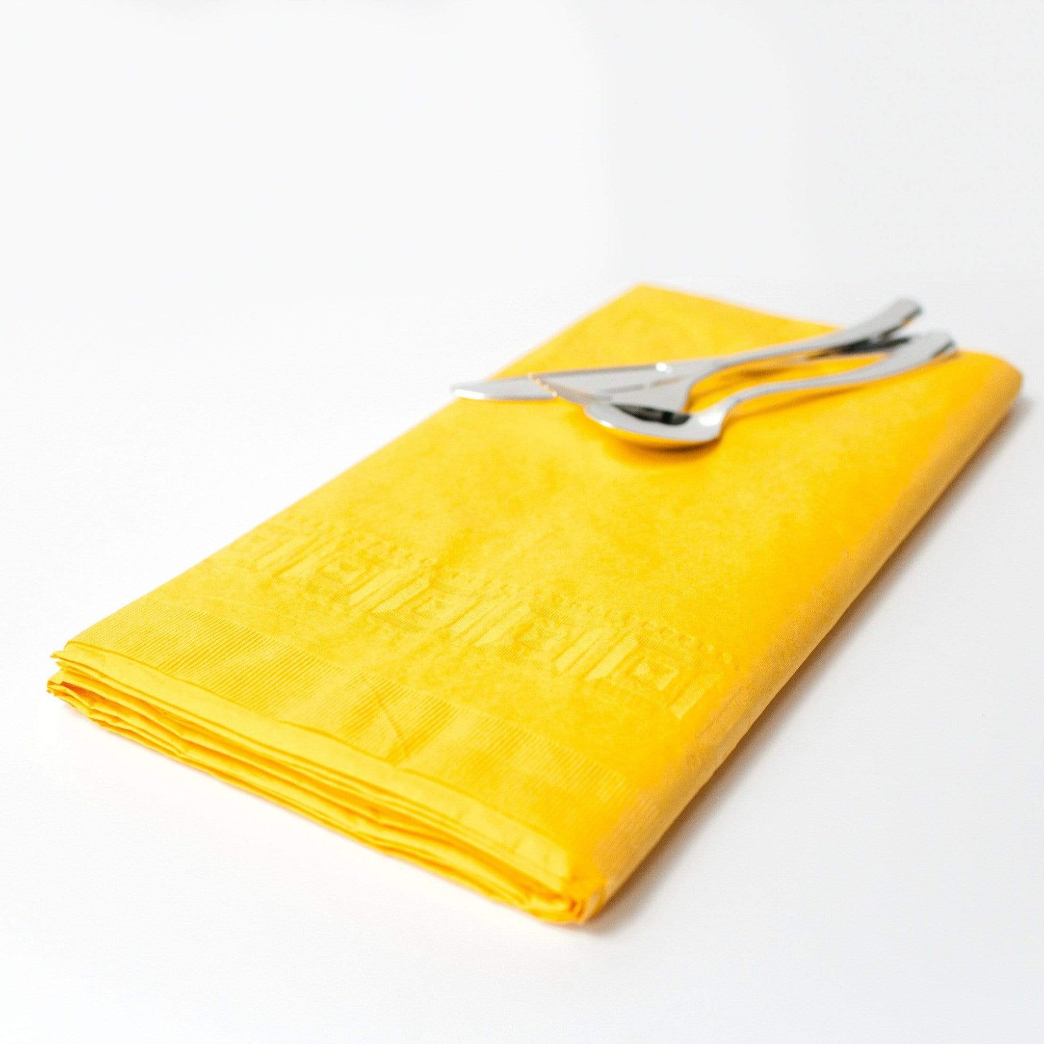 Sunshine yellow paper Tablecloth