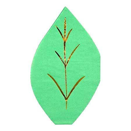 Leaf Party Napkins Meri Meri | Woodland Party Supplies | Meri meri UK