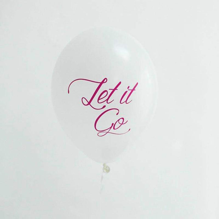 Let It Go Balloons (5 Pack)