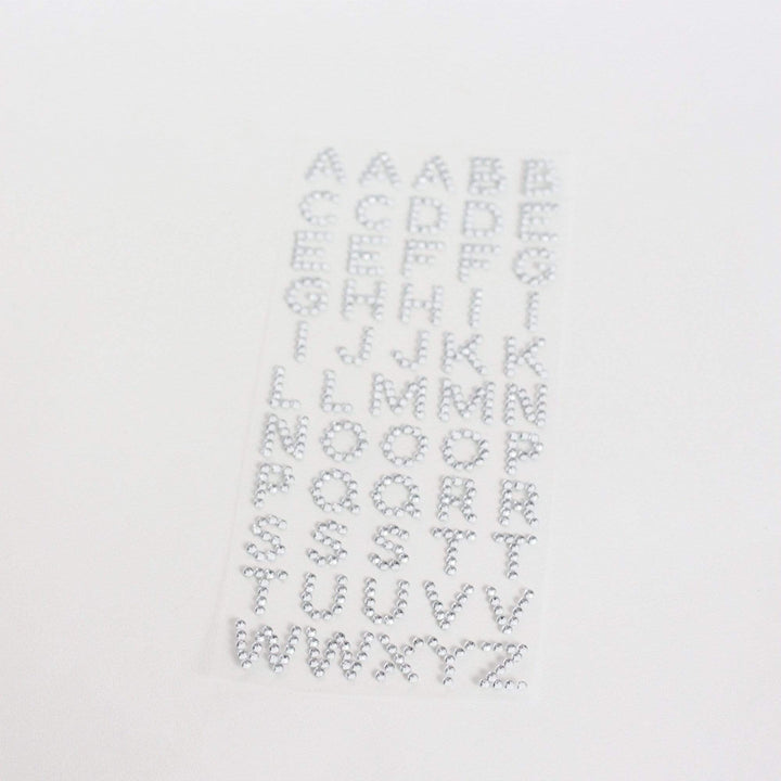 Letter Stickers - Sparkles