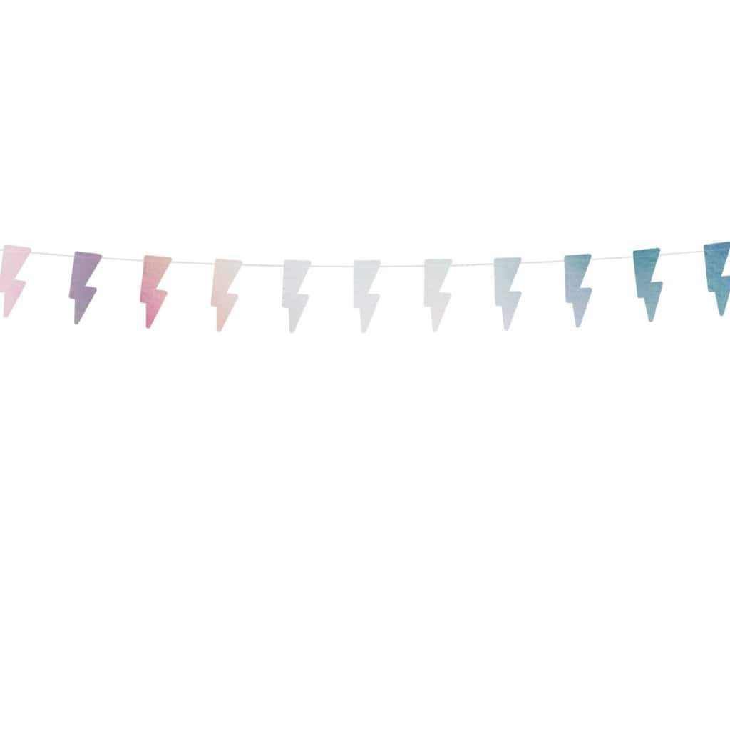 Lightning Bolt Garland | Super Hero Decorations
