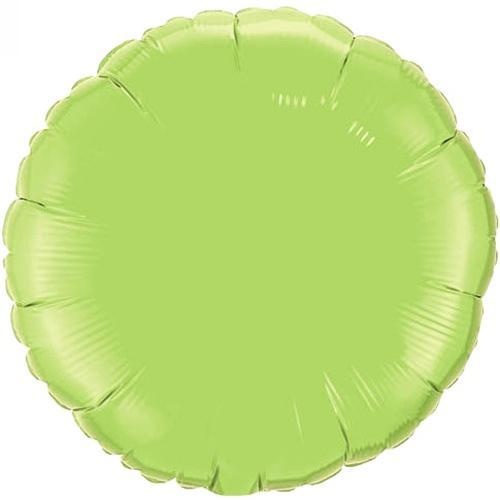 Lime Green Foil Balloon