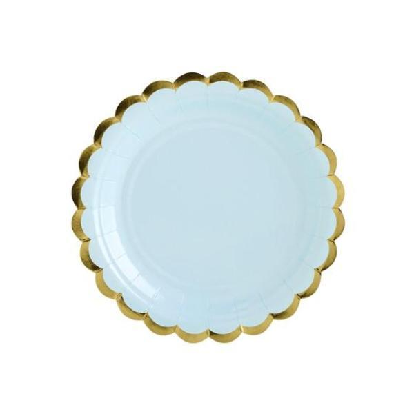 Pale Blue little Party Plates