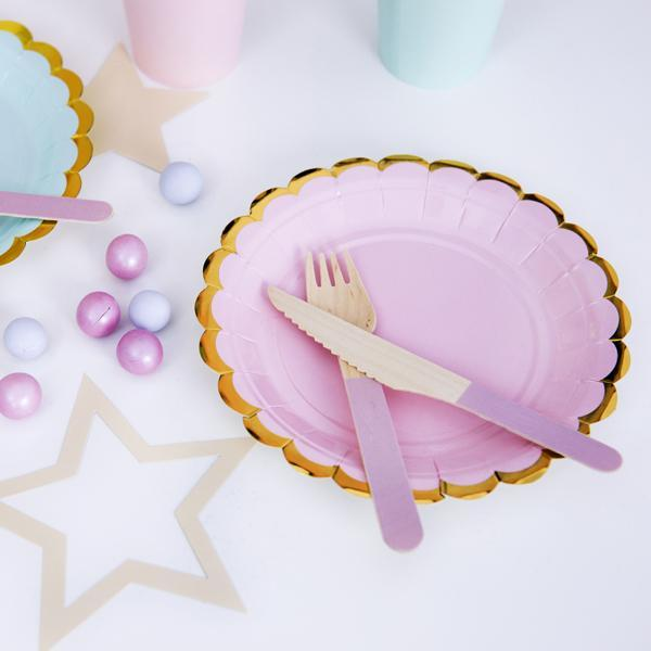 Pretty Party Plates - Pink