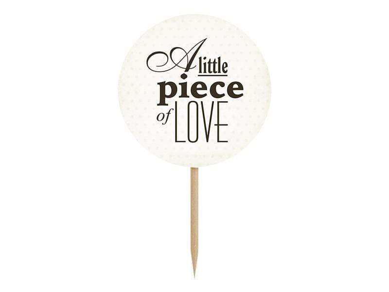 Love Cake - Cupcake Toppers