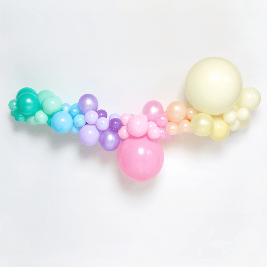 Pastel Balloon Garland Kit Cloud UK
