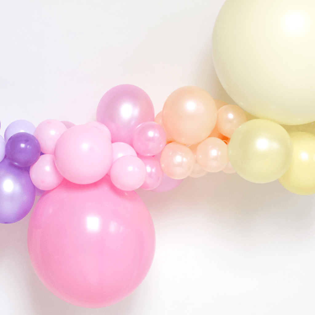 Balloon Garland Kit | Balloon Arch Installation Pastel