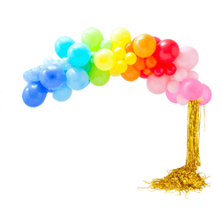 Rainbow Balloon Garland Kit Cloud UK