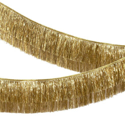 Luxe Gold Tinsel Fringe Garland