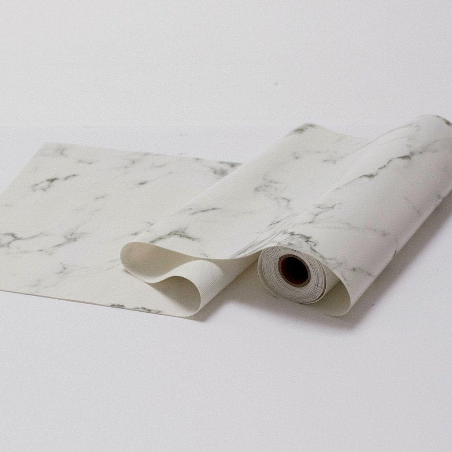 Marble vinyl Table Runner