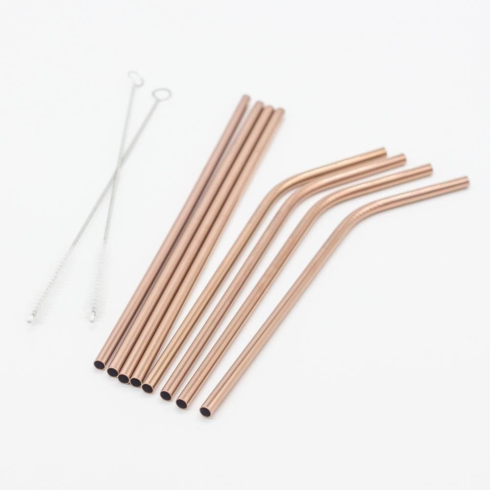 Metal Drinking Straws Copper | Eco friendly Straws