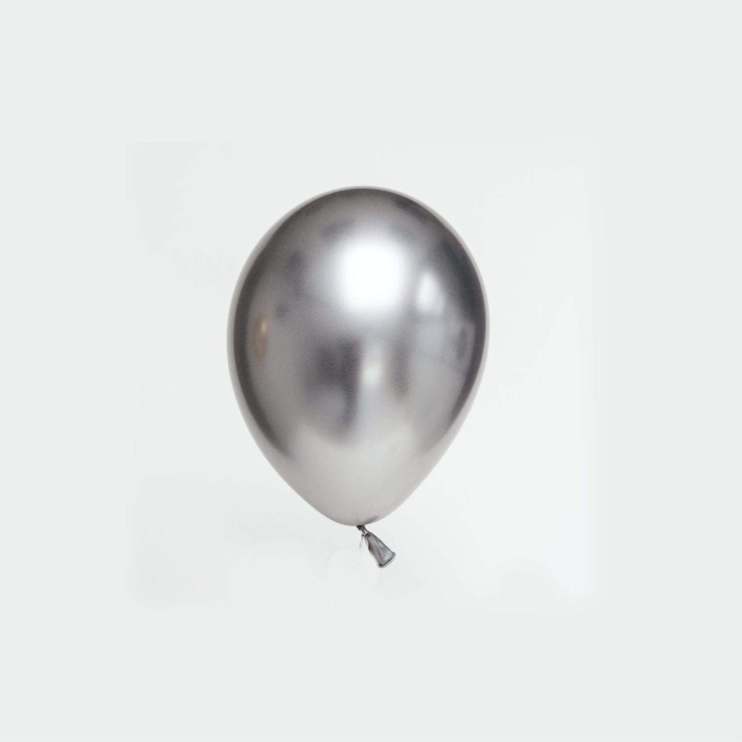 Silver Chrome Balloons | Latex Balloons | Helium Party Balloons | Qualatex