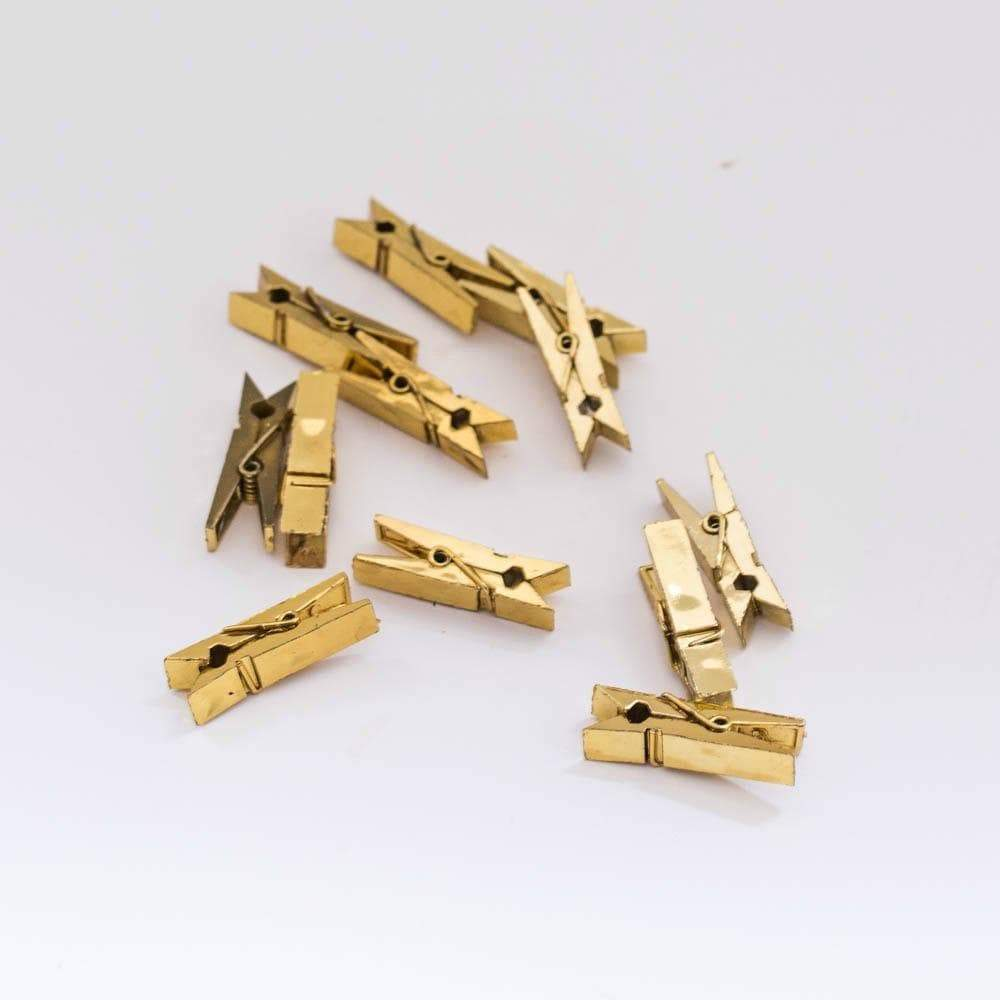 Gold Shiny Pegs for party Crafts