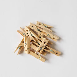 Mini Wooden Pegs (20 pack)