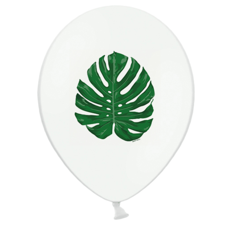 Monstera tropical Leaf Balloons