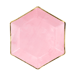 Pretty Pink Wedding Hen Do Plates | Pink Party Supplies | Party Deco