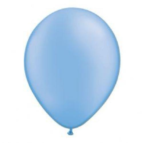 Neon Blue Balloons (5 pack)