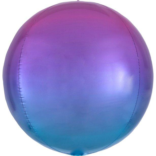 Ombre Orb Balloon - Pink, Purple & Blue